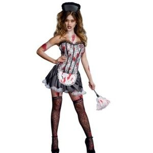 Dreamgirl maid mayhem zombie maid